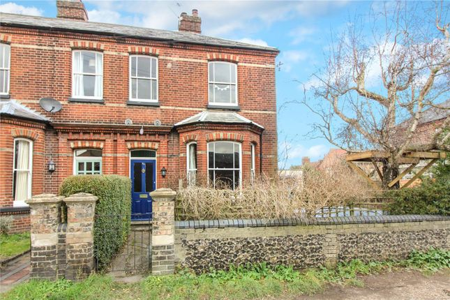 Thumbnail Semi-detached house for sale in St. Bartholomews Close, Norwich
