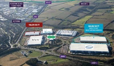 Thumbnail Warehouse to let in Prologis Park, Kettering, Zone A, Plot 2, Hipwell Road, Kettering, Northants