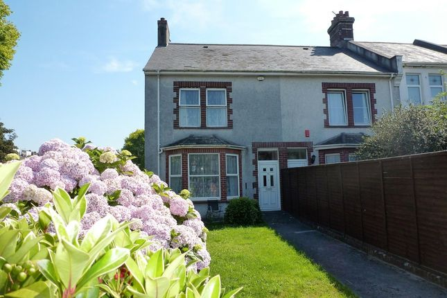 Thumbnail End terrace house for sale in Ryder Road, Plymouth