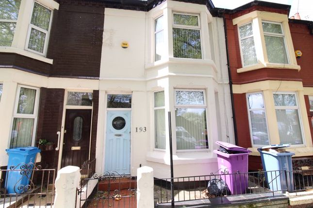 Thumbnail Terraced house to rent in Stanley Park Avenue South, Walton, Liverpool