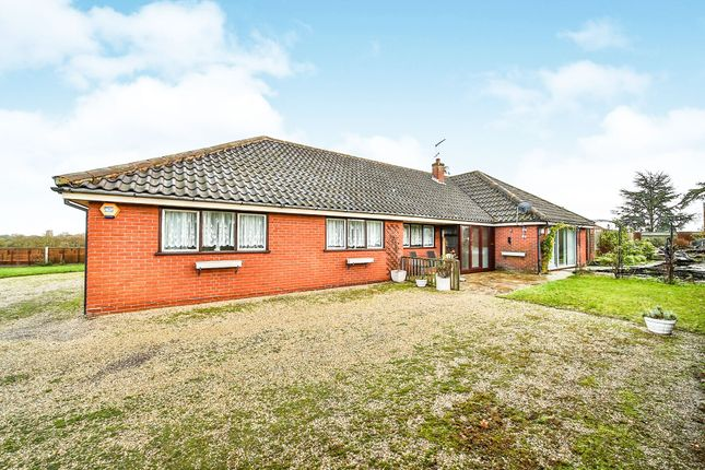 Thumbnail Detached bungalow for sale in Holly Farm Road, Reedham, Norwich