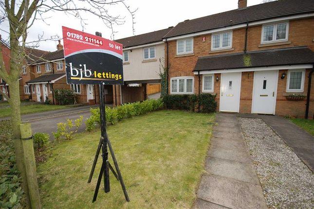 Thumbnail Town house to rent in Lister Grove, Blythe Bridge, Stoke-On-Trent