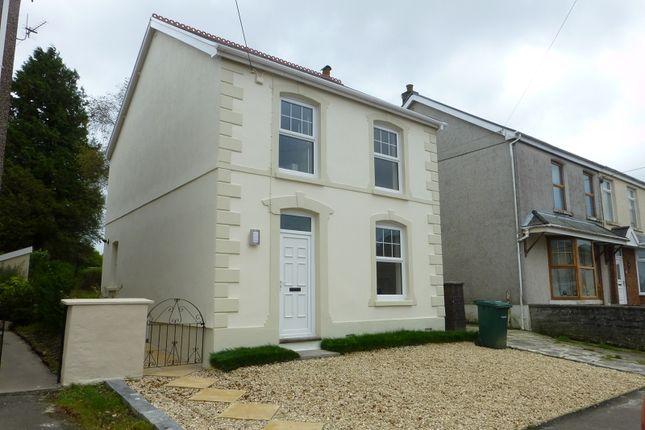 Thumbnail Detached house for sale in Brynamman Road, Lower Brynamman, Ammanford, Carmarthenshire.