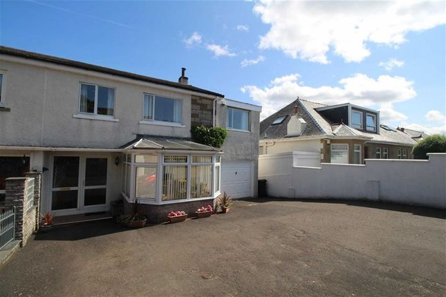Thumbnail Semi-detached house for sale in Newton Street, Greenock, Renfrewshire