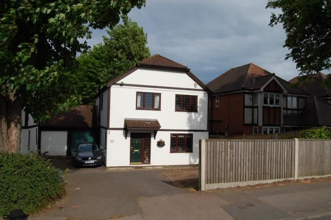 Thumbnail Link-detached house for sale in Woodcote Road, Wallington, Surrey, England
