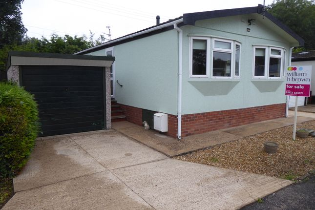 Thumbnail Mobile/park home for sale in Stone Valley Court, Waddington, Lincoln, Lincs.
