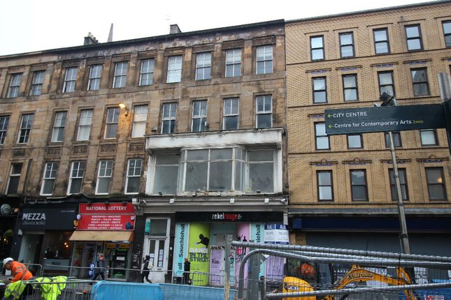 Thumbnail 3 bed flat to rent in Sauchiehall Street, Glasgow