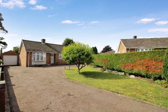 Thumbnail Detached bungalow for sale in Manor Park Gardens, Long Stratton, Norwich