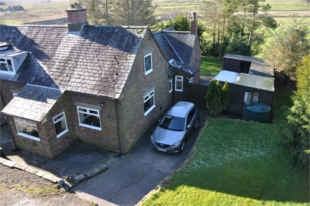 Thumbnail Semi-detached house for sale in Elishaw Moor, Otterburn, Northumberland.