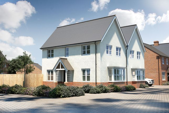 "Thumbnail Semi-detached house for sale in ""The Staunton"" at Pershore Road, Evesham"