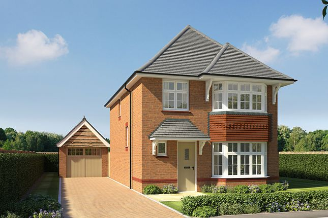"Thumbnail Detached house for sale in ""Stratford"" at Bramling Way, Rainham, Gillingham"