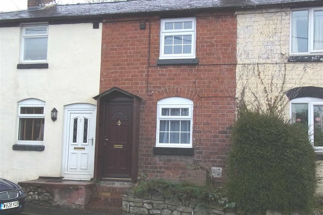 Thumbnail Terraced house to rent in 2, Morda Bank Cottages, Oswestry, Oswestry, Shropshire