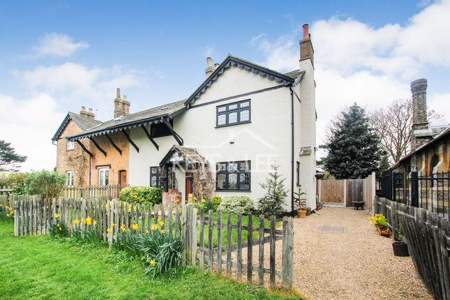 Thumbnail Semi-detached house for sale in Holly Tree Cottage, The Green, North Road, Havering-Atte-Bower, Romford, Essex
