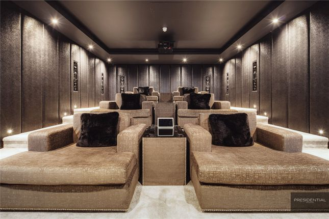 Cinema Room of Aspen House, Chigwell, Essex IG7