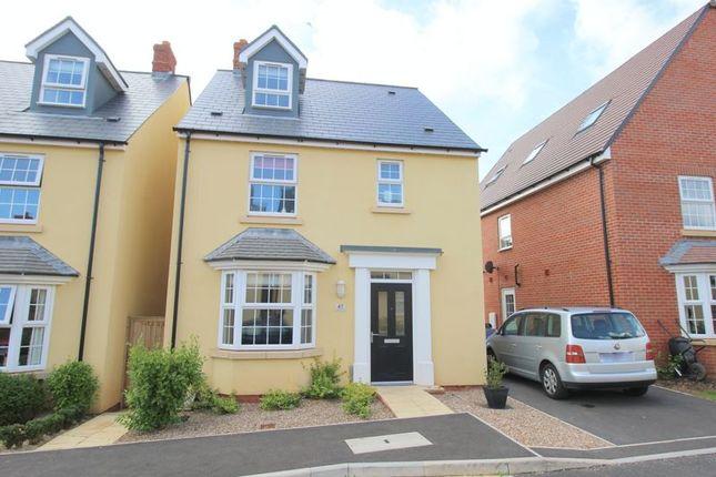 Thumbnail Detached house for sale in Sandoe Way, Pinhoe, Exeter