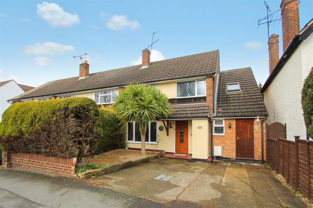 4 bed end terrace house for sale in Claremont Road, West Byfleet KT14