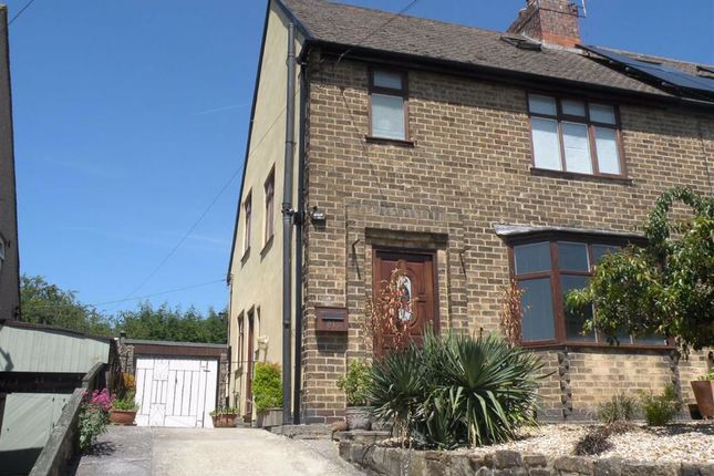 Thumbnail 3 bed semi-detached house for sale in 81, Northwood Lane, Darley Dale Matlock, Derbyshire