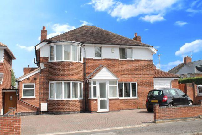 Thumbnail Detached house for sale in Evington Lane, Evington, Leicester