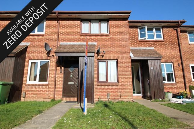 Thumbnail Terraced house to rent in Woodrush Crescent, Locks Heath, Southampton