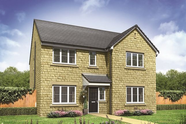 "Thumbnail Detached house for sale in ""The Marylebone "" at Barnsley Road, Flockton, Wakefield"