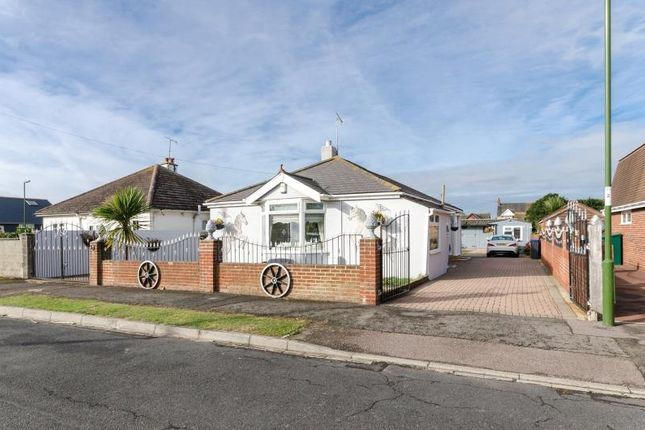 Thumbnail Detached bungalow for sale in Queens Road, Lancing, West Sussex