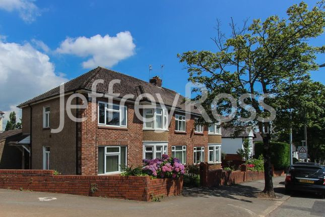 Thumbnail Flat to rent in Lake Road North, Heath, Cardiff