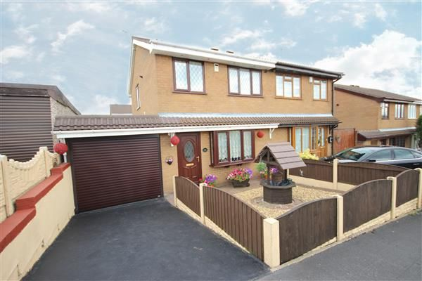 Semi-detached house for sale in Amison Street, Meir Hay, Stoke-On-Trent