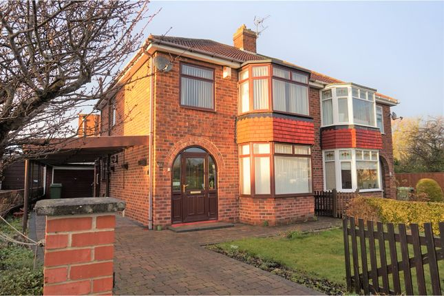 Thumbnail Semi-detached house for sale in Green Lane, Thornaby, Stockton-On-Tees