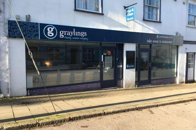 Thumbnail Restaurant/cafe for sale in North Tawton, Devon