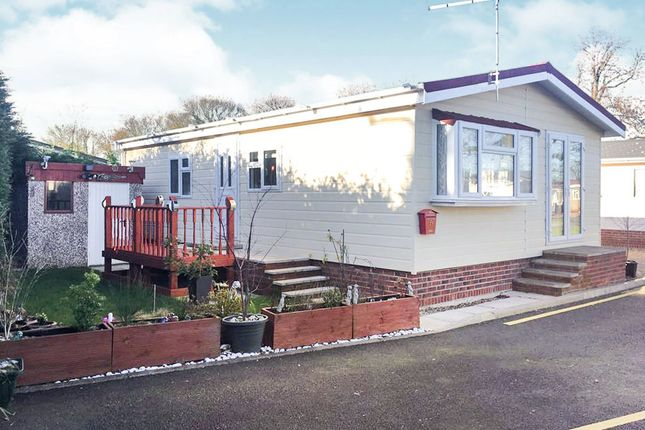 Thumbnail Mobile/park home for sale in Ashby Road, Sinope, Coalville