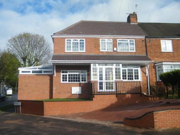 Thumbnail End terrace house for sale in Dyas Avenue, Birmingham, West Midlands