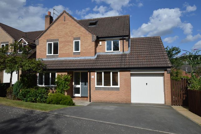 Thumbnail Detached house for sale in Woodlea Grove, Little Eaton, Derby