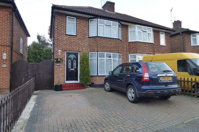 Thumbnail Semi-detached house for sale in Bullhead Road, Borehamwood