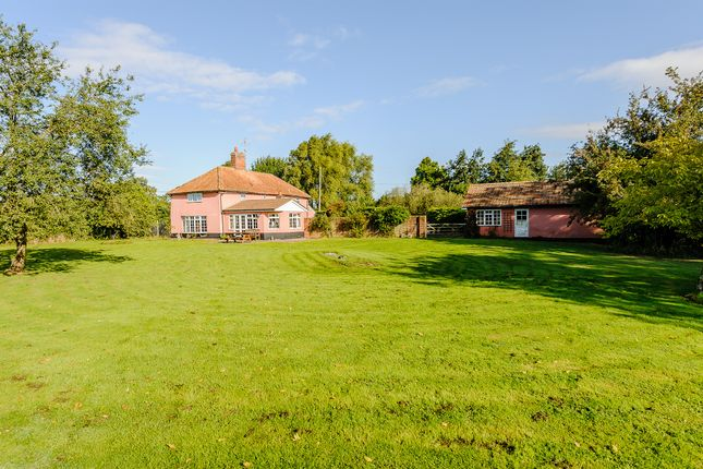 Thumbnail Detached House For Sale In Wells Corner Laxfield Woodbridge