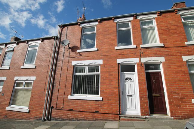 3 bed terraced house to rent in Sandringham Road, Crook DL15
