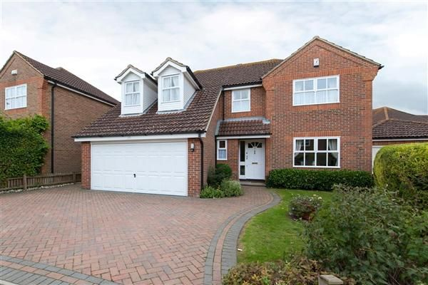 Thumbnail Detached house for sale in Ealham Close, Canterbury