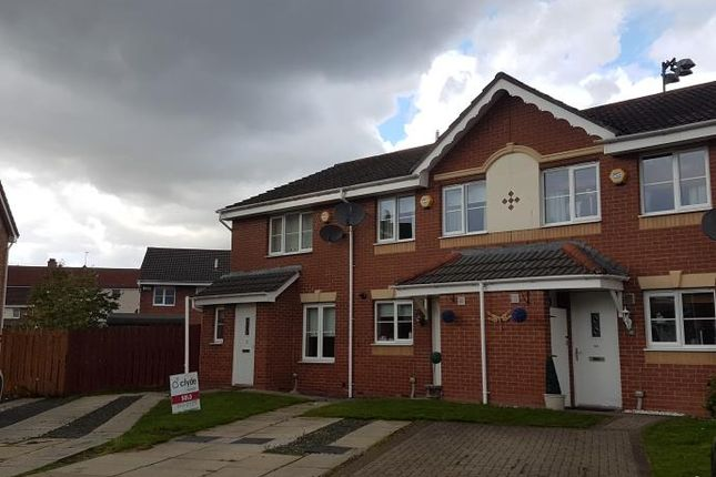 Thumbnail End terrace house to rent in Newhouse Drive, Glasgow