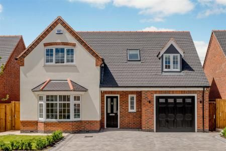 Thumbnail Property for sale in Plot 2, The Oaks, Corley, Coventry