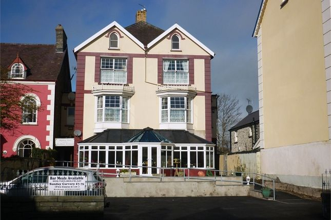 Thumbnail Town house for sale in Highbury Guest House, Pendre, Cardigan, Ceredigion, Wales