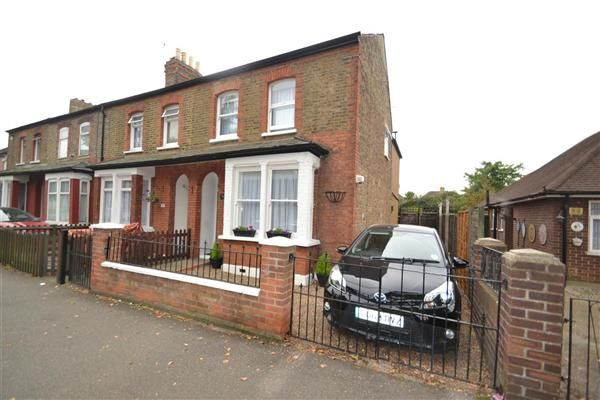 End terrace house for sale in Staines Road, Bedfont, Feltham