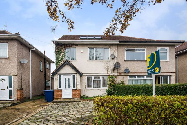 Thumbnail Semi-detached house for sale in Kingshill Avenue, Hayes