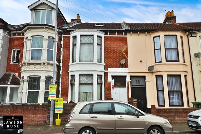 4 bed terraced house for sale in Lawrence Road, Southsea PO5