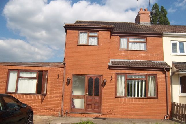 Thumbnail Semi-detached house to rent in Fordhouse Road, Wolverhampton