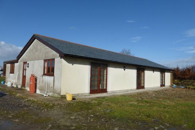 Thumbnail Detached bungalow for sale in Altarnun, Launceston