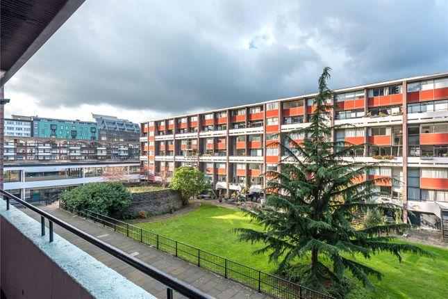 Exterior of Bayer House, Golden Lane Estate, London EC1Y