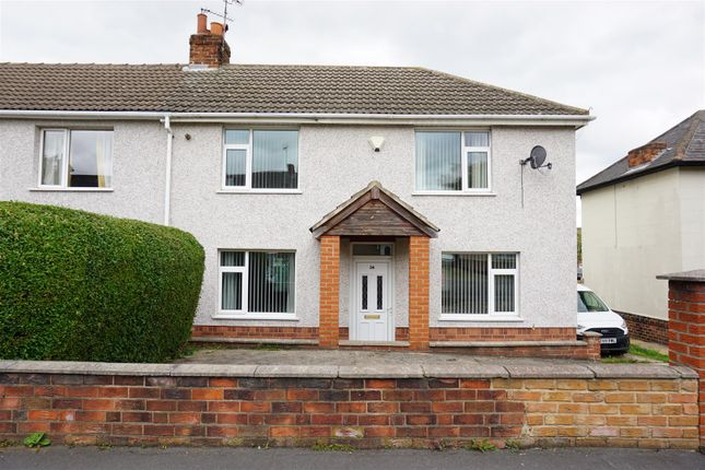 Thumbnail End terrace house for sale in First Avenue, Woodlands, Doncaster