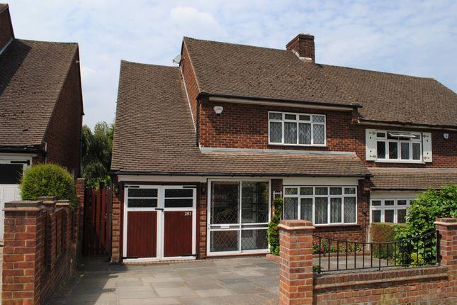 Thumbnail Semi-detached house for sale in Wingletye Lane, Hornchurch