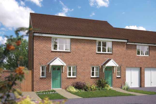"""Thumbnail Terraced house for sale in """"The Amberley"""" at Chivenor, Barnstaple"""