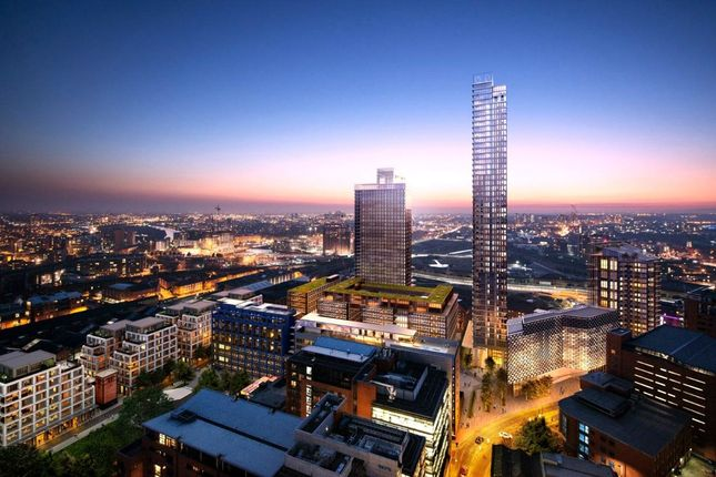Thumbnail Flat for sale in St John's, South Village, Block 401, Manchester