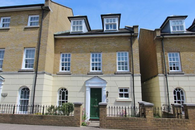 Thumbnail End terrace house for sale in Canada Road, Walmer, Deal
